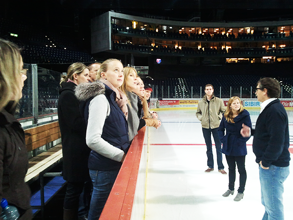 Ice Hockey Eventmanagement studieren