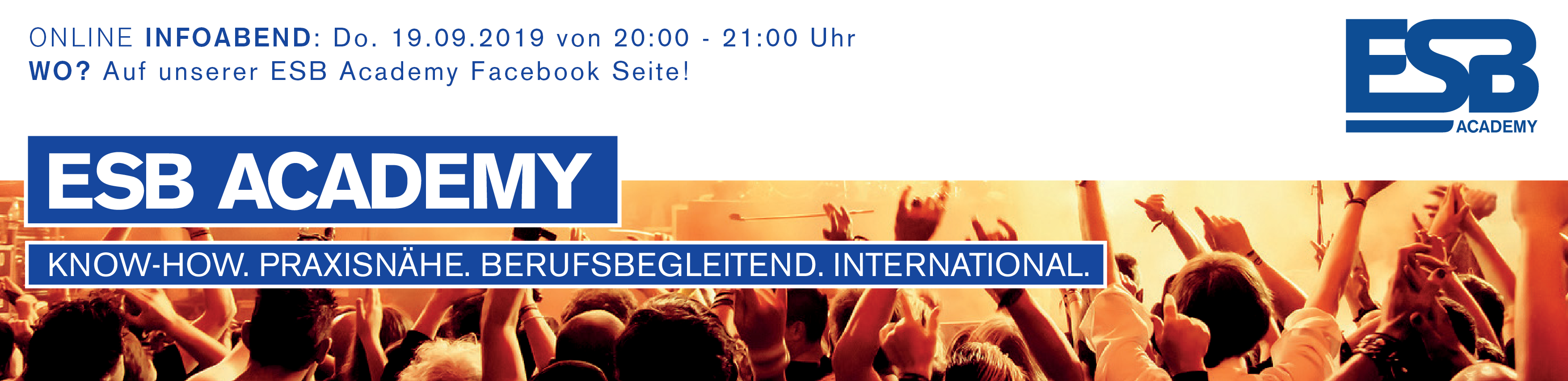 Eventmanagement Ausbildung in Wien, Salzburg und Tirol – ESB Academy Logo